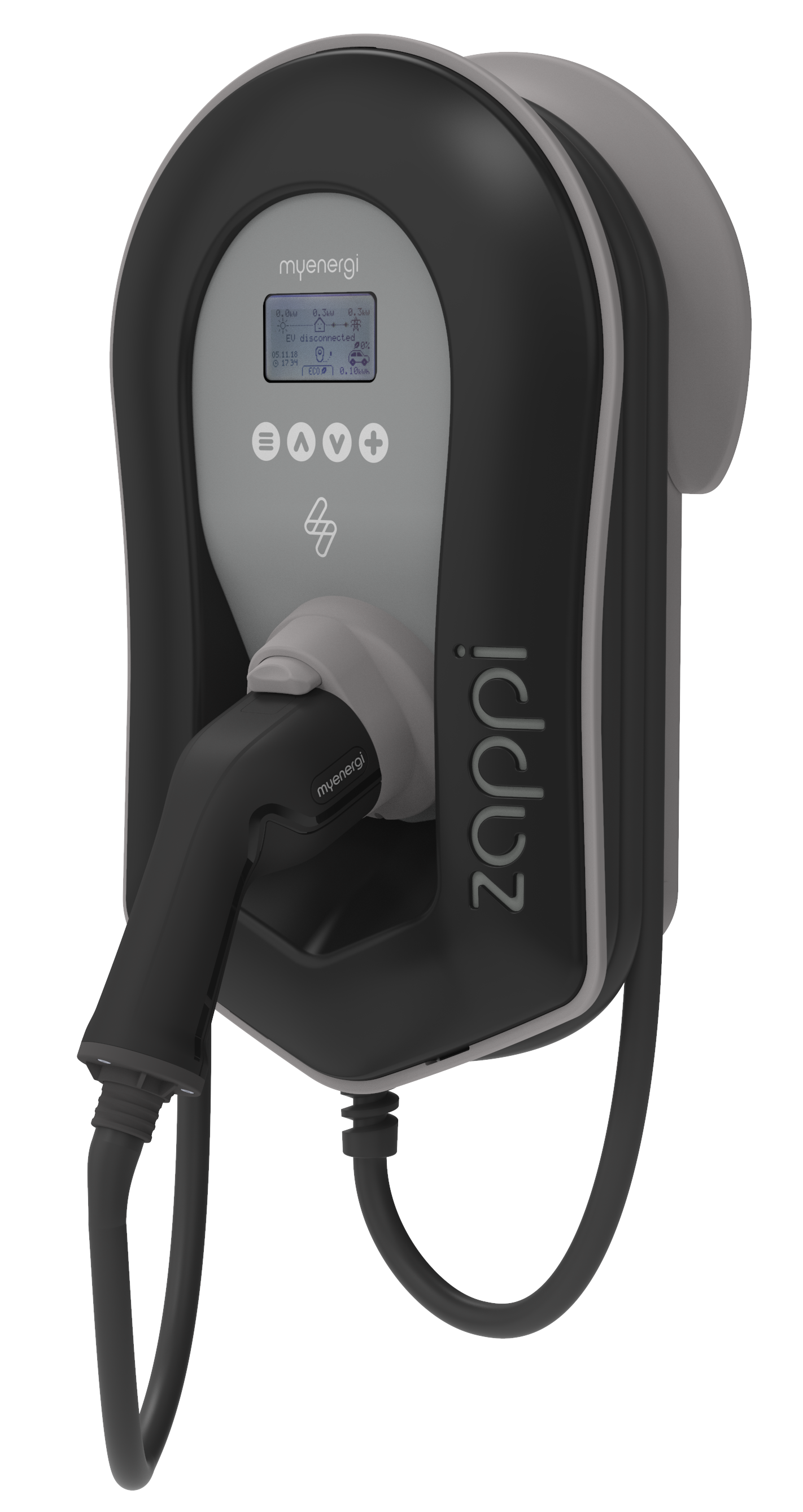 Zappi Tethered Black